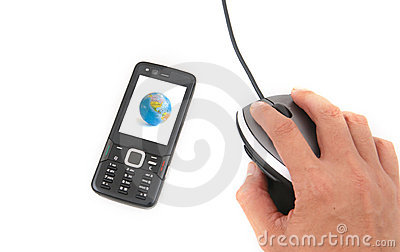 Mobilephone and Mouse