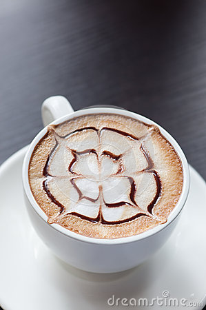 Mocha coffee drink