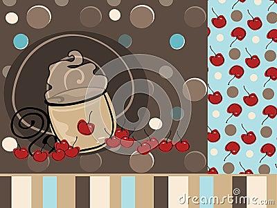 Mocha de Latte do café