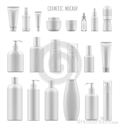 Free Mock-up Of Cosmetic Package Stock Photo - 84724960