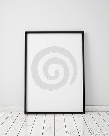 Free Mock Up Poster Frame With Loft Interior Background, Royalty Free Stock Photos - 59967468