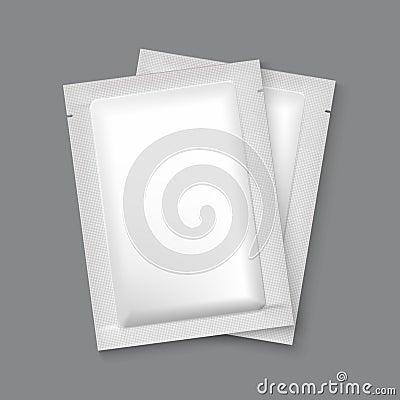 Free Mockup Blank Foil Packaging Stock Image - 53224741