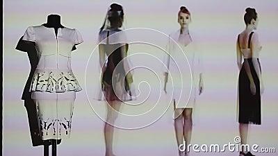 moda cyfrowa zbiory wideo