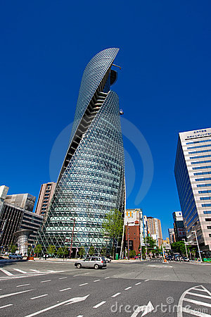 Mode Gakuen Spiral Towers Editorial Image