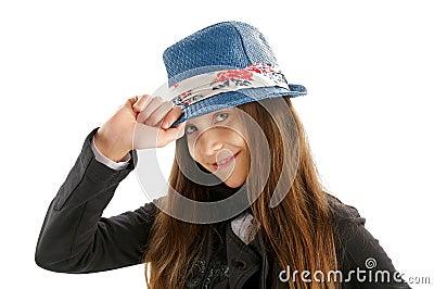 Mode-Mädchen