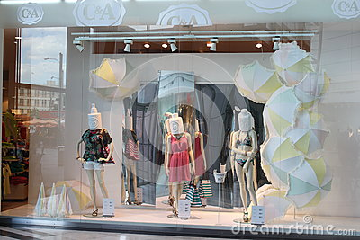 Modeföretag Redaktionell Foto