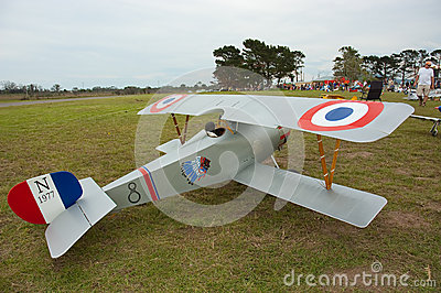 Sopwith Camel model aircraft South Africa Editorial Photography