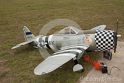 Curtis model aircraft South Africa Editorial Stock Image