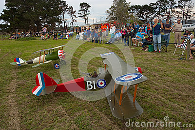 Model aircraft South Africa Handley Page Editorial Stock Photo