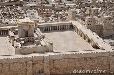 Model of ancient Jerusalem Temple