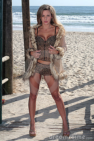 Free Model At The Beach Stock Photography - 3660362