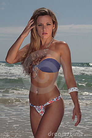 Free Model At The Beach Royalty Free Stock Photo - 3664205