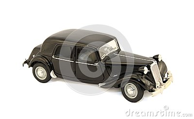 Model of the black car