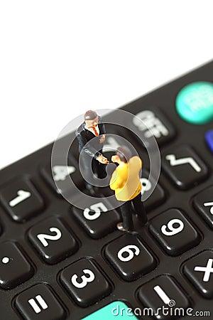 Model business figures calculator A