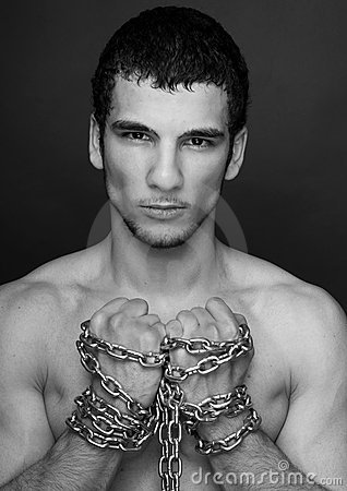Model with chains