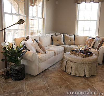 Model Home Interior Design Stock Images - Image: 2061314