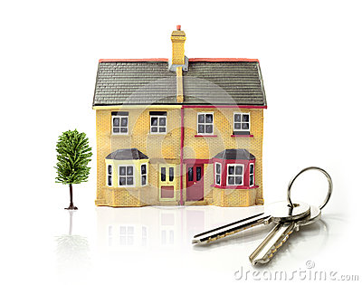 Model House with keys
