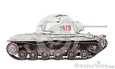 Model of KV-1 tank