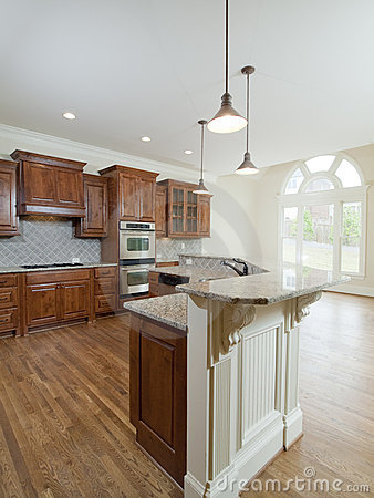Model Luxury Home Interior Kitchen