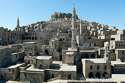 Model of Mardin City