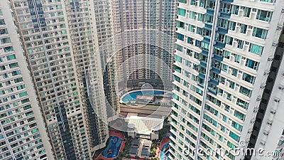 Model nieruchomości w Hongkongu w Tko 14 listopada 2019 r. zbiory wideo