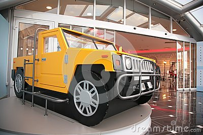 Model of off-road vehicle