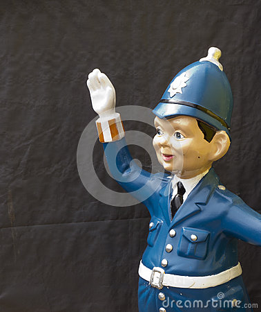 Model policeman