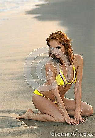 3d girl in beach resort fucked - 1 2