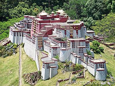 Model of the Potala Palace