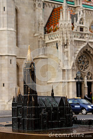 Model and real church
