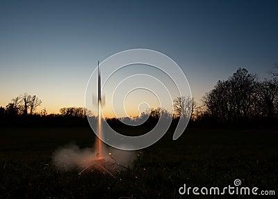 Model Rocket Lauch