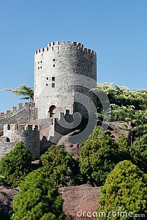 Model of Rumeli Fortress