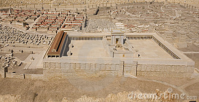 Model of the Second Temple at Israel Museum