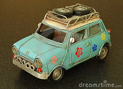 Model of Small Car