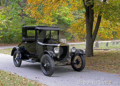 Model T in the Cemetery