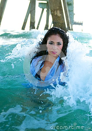 Model in the Waves