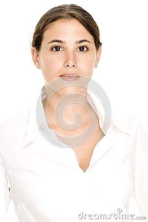 Model In White 1