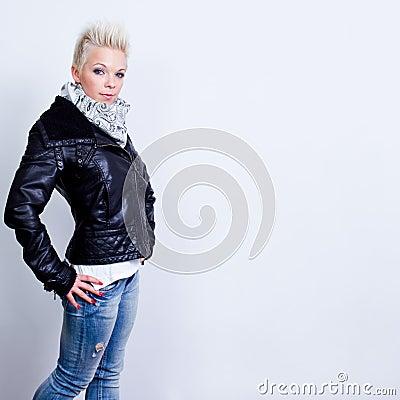 Model woman