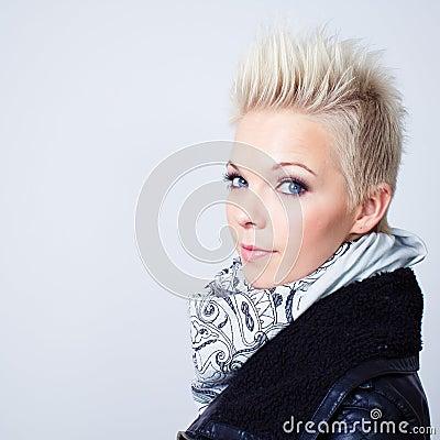 Model woman portrait