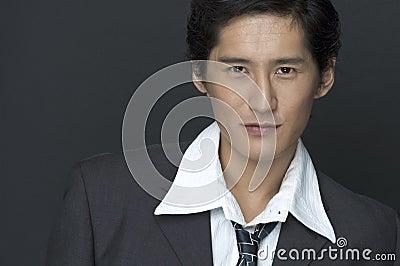 Modell för asiat 2