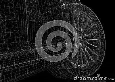 Modell för bil 3D
