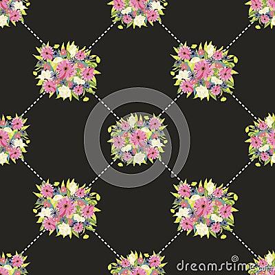 Modello di fiore