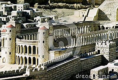 Modelo da cidade de Jerusalem