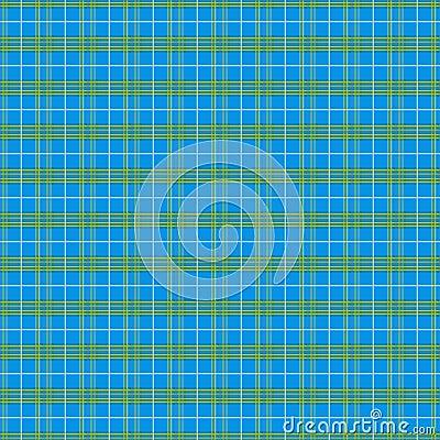 Modelo de la tela escocesa