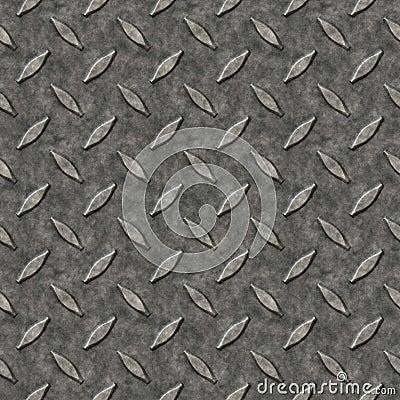 Modelo del metal de la placa del diamante
