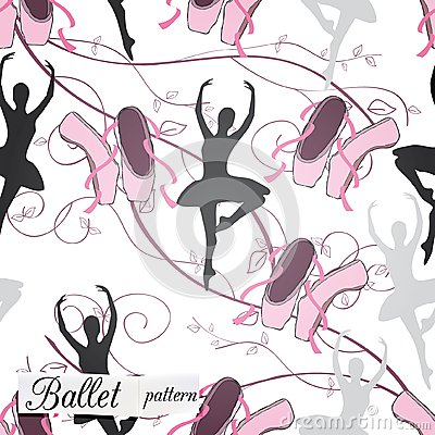 Modelo en tema del ballet