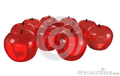 Modelos de cristal de frutas imagenes de archivo imagen for Frutas de cristal