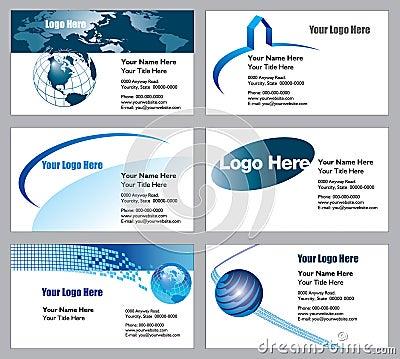 Modelos de la tarjeta de visita