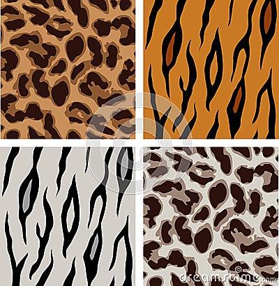 Modelos del leopardo y del tigre