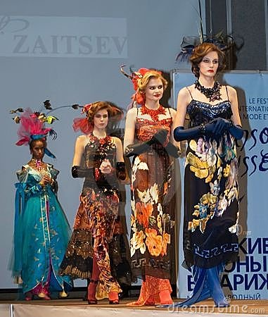Models from the collection of Slava Zaitsev Editorial Image